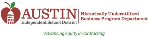 Austin Independent School District HUB Program Dept Logo