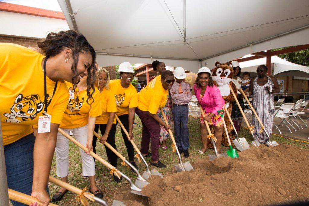 Norman-Sims Elementary School Groundbreaking; Photo Credit - AISD
